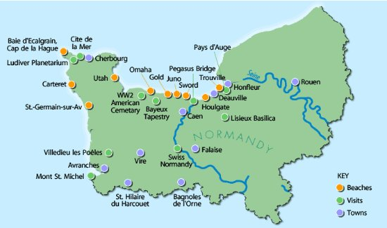 Best Place To Stay For Normandy Beaches